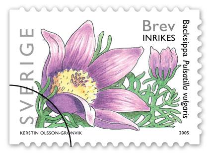 gamla frimärken på brev